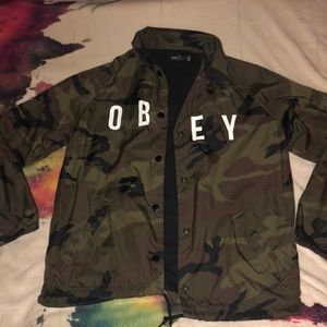 Camo Obey Jacket